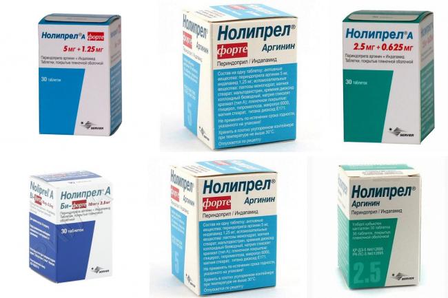 Кому и как принимать таблетки Нолипрел