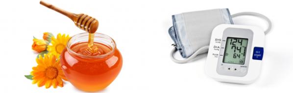 Как мёд влияет на показатели давления человека