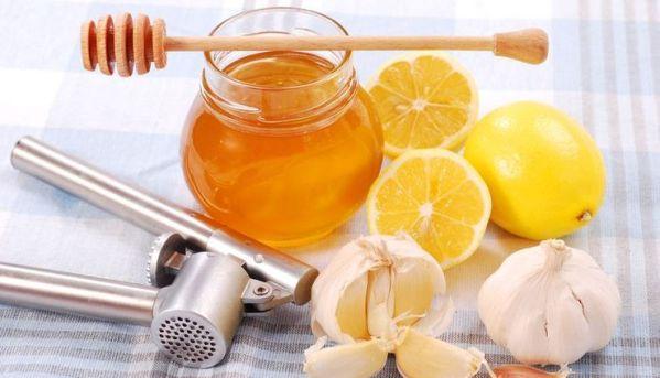 С чесноком и лимоном