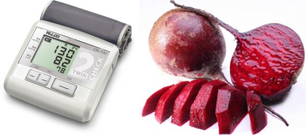 Свекла и артериальное давление: сок, фреш, салаты