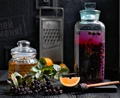 Черноплодная рябина рецепты от давления противопоказания