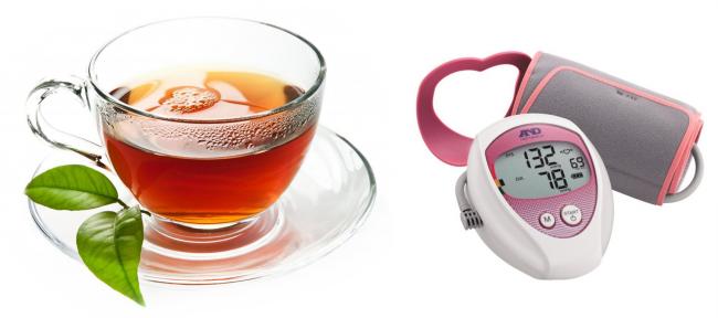 Чай от давления повышенного