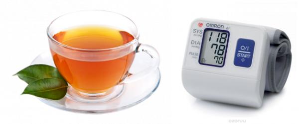 Как черный чай влияет на артериальное давление — повышает или понижает показатели?