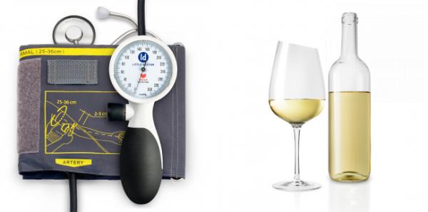 Как белое вино влияет на артериальное давление повышает или понижает показатели?