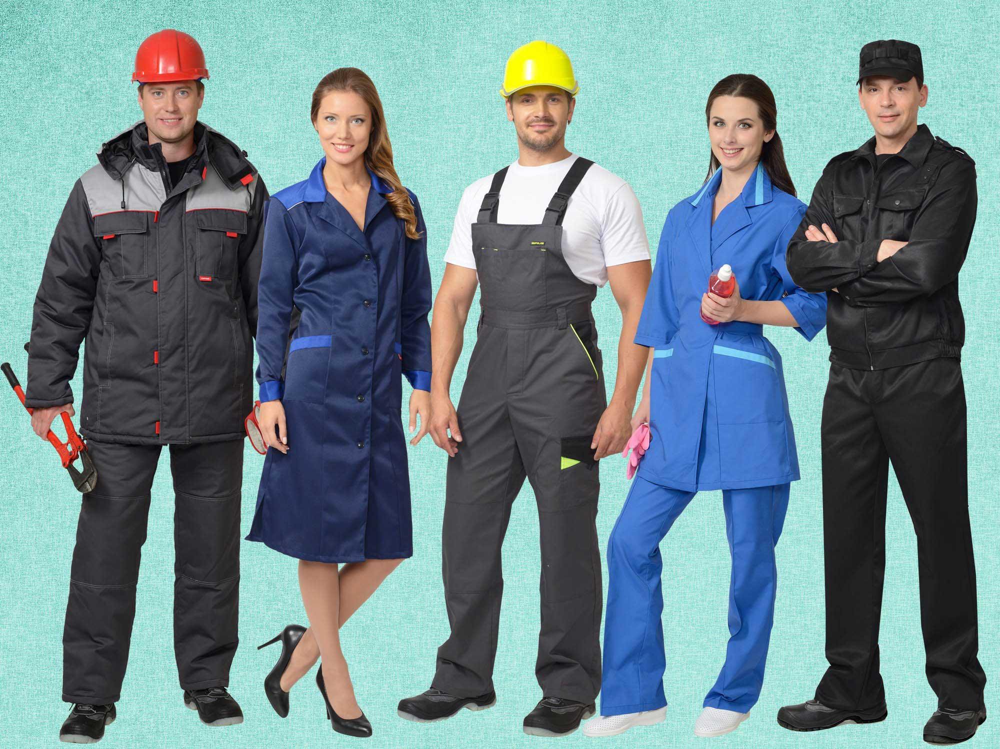 Особенности выбора и производства спецодежды для работников.