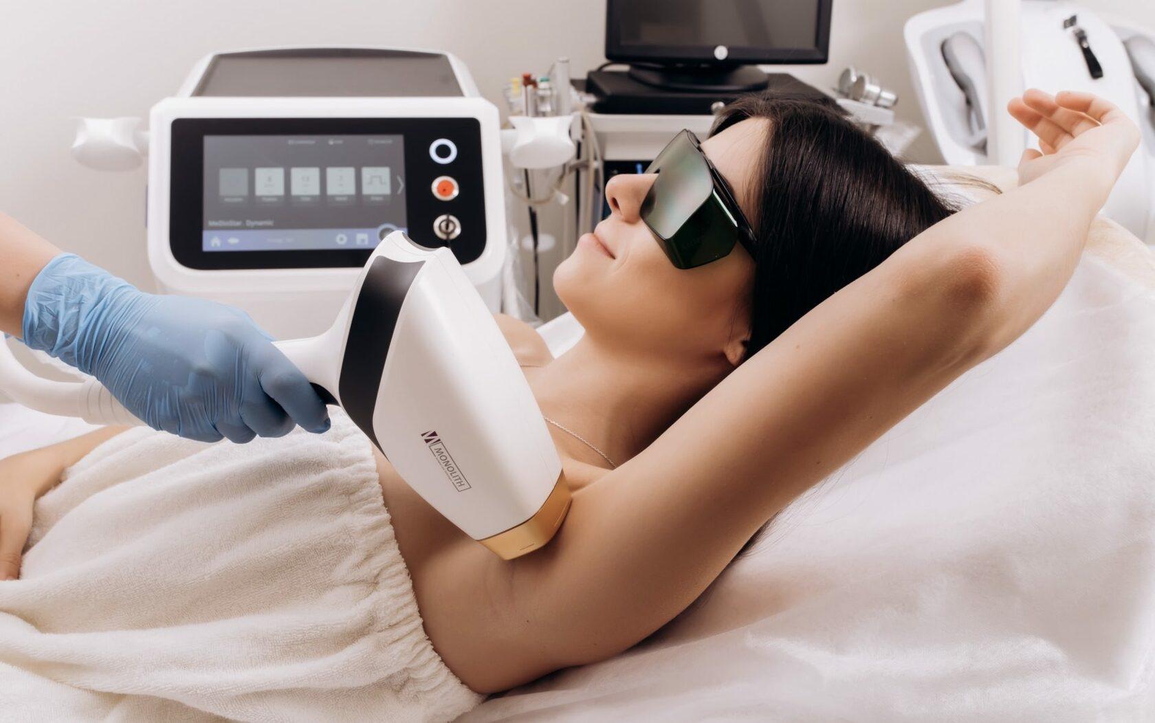 Эффективные методы и аппараты для лазерной эпиляции.